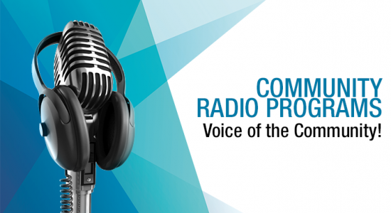 Community Radio Programs