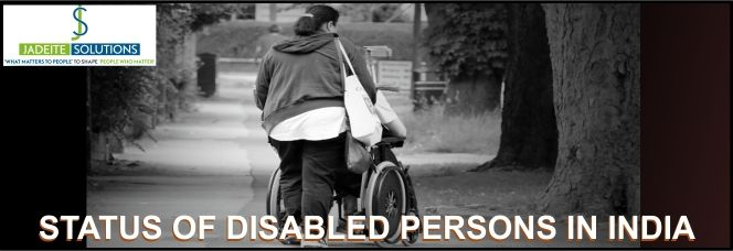 Status of disabled persons in India
